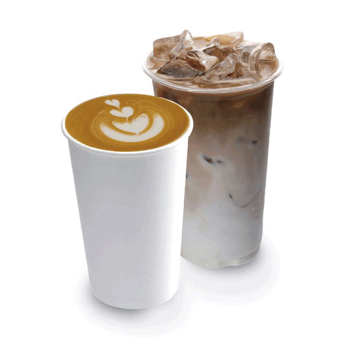 카페라떼 ( HOT / ICE ) | 와플대학